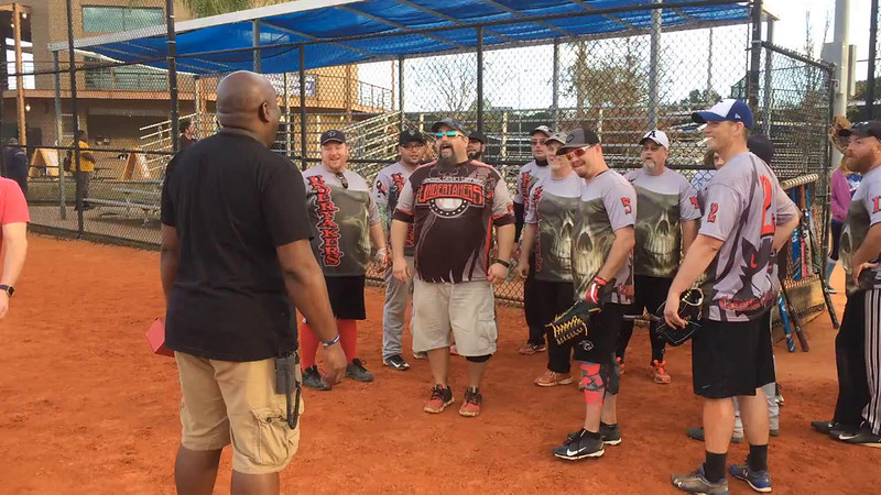 2017 Orlando Meltdown Charity Softball Tournament C Division 3rd Place Trophy Awarded