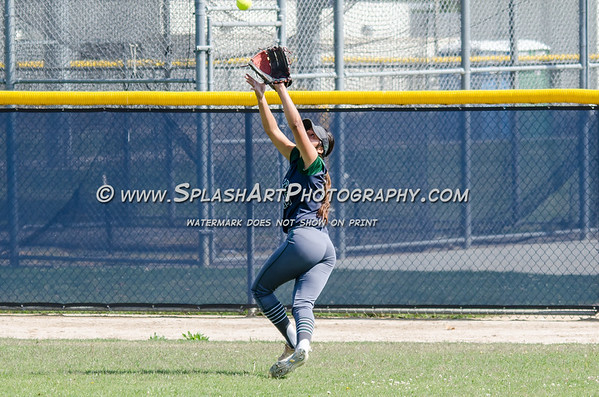 2017 Alhambra Moors Softball vs Shurr Spartans