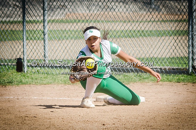 2017 Softball Eagle Rock  vs Granada Hills 11May2017