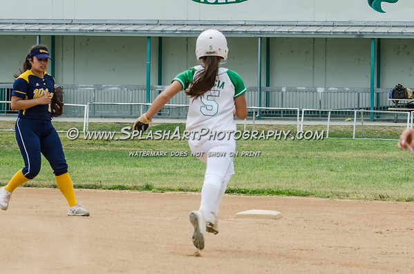 2017 Eagle Rock Softball vs Wilson Mules