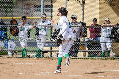 2017 Softball JV Eagle Rock vs El Monte 25Feb2017