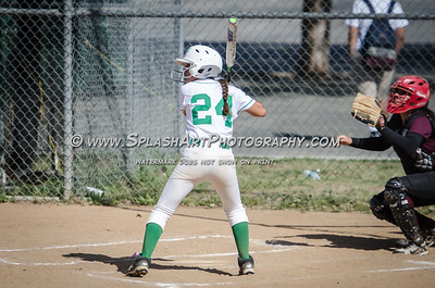 2017 Softball JV Eagle Rock vs Sotomayor 30Mar2017
