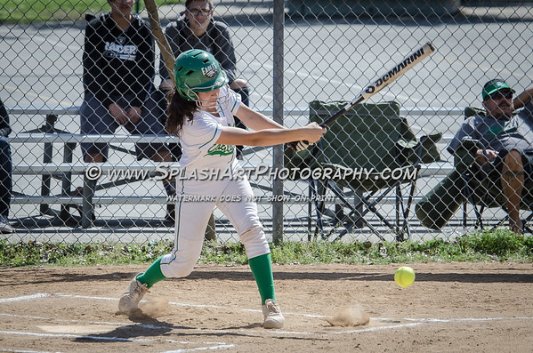 2017 Eagle Rock JV Softball vs Sotomayor Wolves
