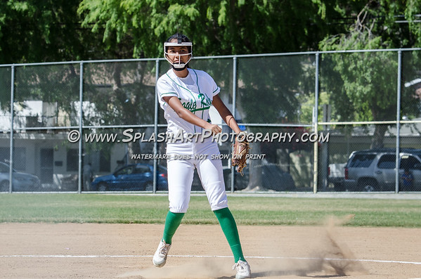 2017 Eagle Rock JV Softball vs Sotomayor Wolves