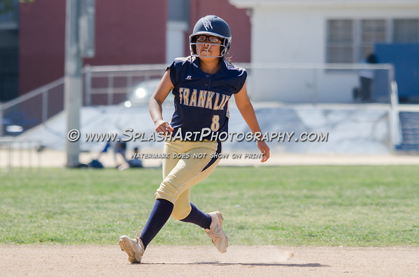 2017 Lincoln Tigers Softball vs Franklin Panthers