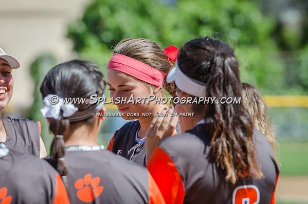 2017 Lincoln Tigers Softball vs Marshall Barristers