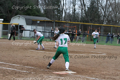 WBHS Softball at Perry-74