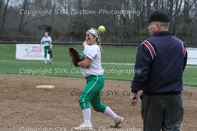 WBHS Softball at Perry-68