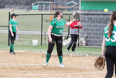 WBHS Softball vs Northwest 2-4
