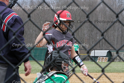 WBHS Softball vs Northwest 2-75