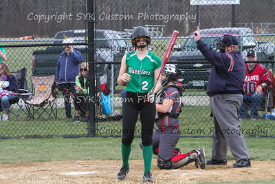 WBHS Softball vs Northwest 2-12