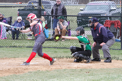 WBHS Softball vs Northwest 2-5