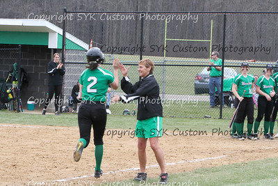 WBHS Softball vs Northwest 2-56