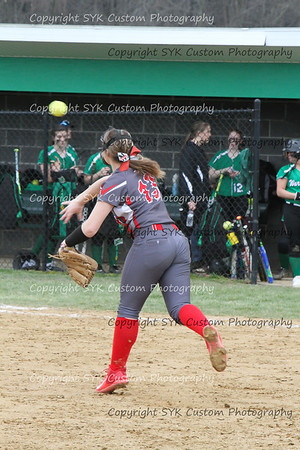 WBHS Softball vs Northwest 2-11