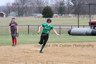 WBHS Softball vs Northwest 2-55