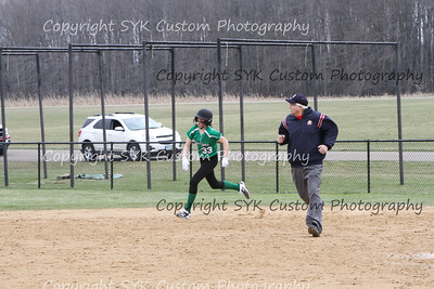 WBHS Softball vs Northwest 2-49
