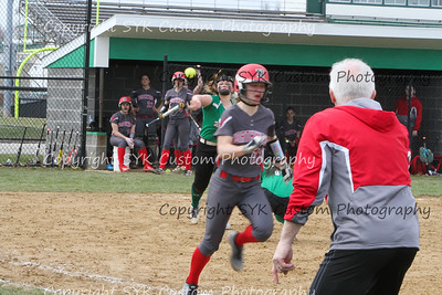 WBHS Softball vs Northwest 2-88