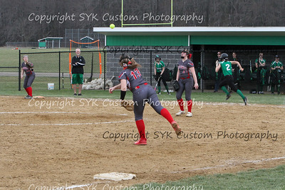 WBHS Softball vs Northwest 2-14