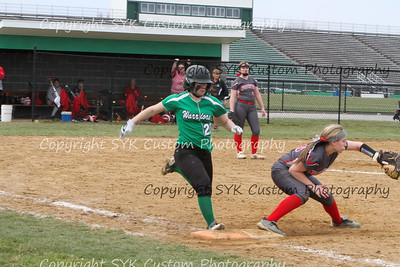 WBHS Softball vs Northwest 2-85