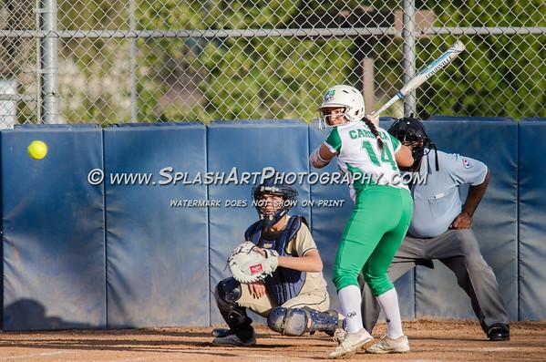 2018 Eagle Rock Softball vs Coronado Thunderbirds