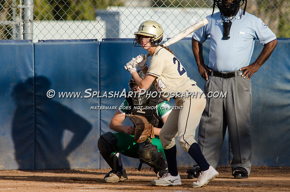 2018 Eagle Rock Softball vs Coronado Thunderbirds