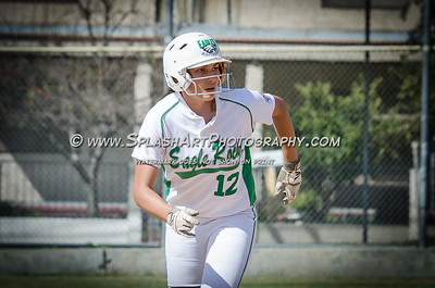 2018 Softball Eagle Rock vs Lincoln 09Apr2018