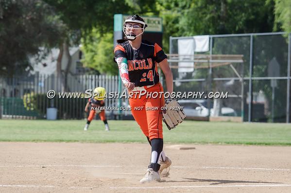 2018 Eagle Rock Softball vs Lincoln Tigers