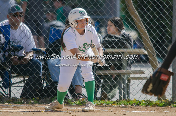 2018 Eagle Rock Softball vs Sotomayor Wolves