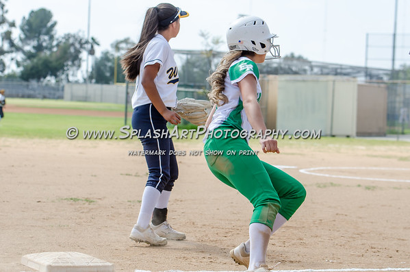 2019 Eagle Rock Softball vs Wilson Mules