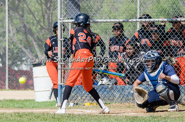 2019 Franklin Panthers softball vs Lincoln Tigers