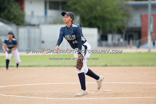 2019 Franklin Panthers Softball vs Rancho Dominquez