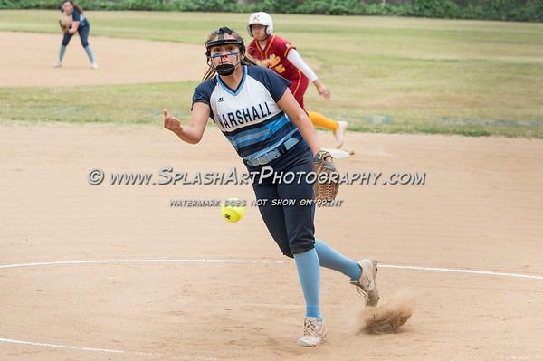 2019 Marshall Softball vs Roosevelt Rough Riders