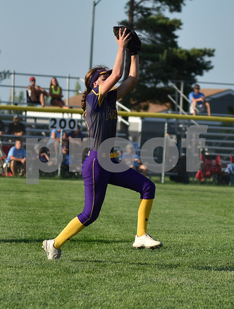 Logan-Magnolia vs Iowa City Regina during 2A Semi-finals State Softball Tournament at Harlan Rogers Sports Complex on July 21, 2016