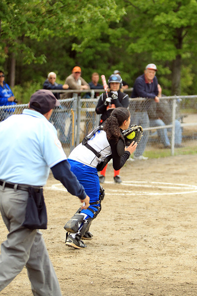 5/24/14 Softball: Leominster vs. Marlboro
