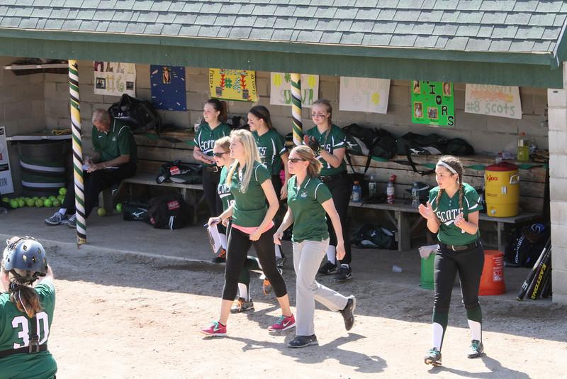 BE Varsity Softball WIN vs Biddeford 167
