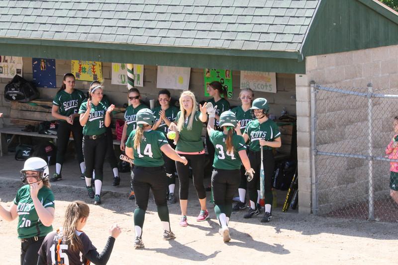 BE Varsity Softball WIN vs Biddeford 133