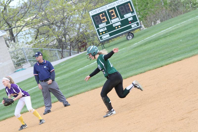 Bonny Eagle Varsity Softball WIN vs Cheverus 215