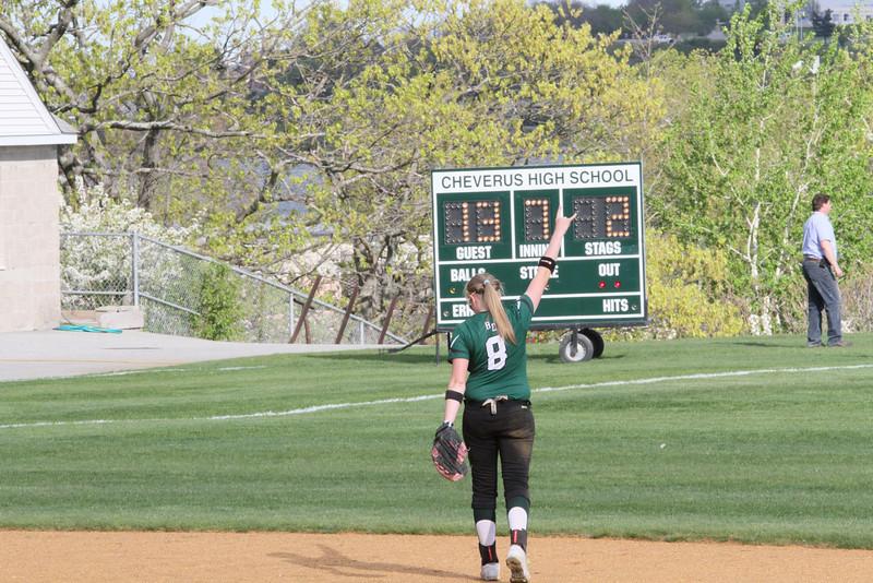 Bonny Eagle Varsity Softball WIN vs Cheverus 342
