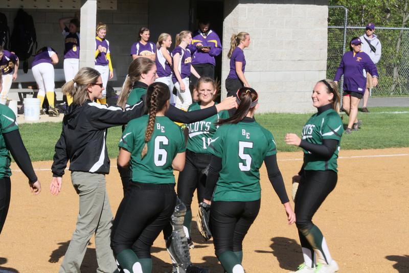Bonny Eagle Varsity Softball WIN vs Cheverus 284