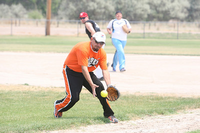 Steve Magdaleno the pitcher for Team Hitman from Scottbluff beat team Star Herald.