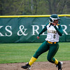 Fitchburg State's Damari Grossi runs safely into third during the game against Salem State on Thursday afternoon. SENTINEL & ENTERPRISE / Ashley Green