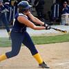 SAM HOUSEHOLDER | THE GOSHEN NEWS<br /> Fairfield junior Danica Mast hits the ball against Lakeland Thursday at Fairfield Jr./Sr. High School.
