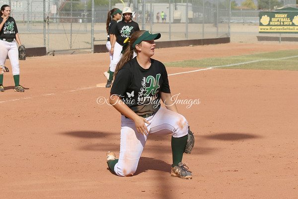 Horizon Softball - Practice - JV - 04/11/2017