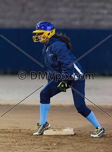 Lake Braddock @ Yorktown JV Softball (10 Mar 2017)
