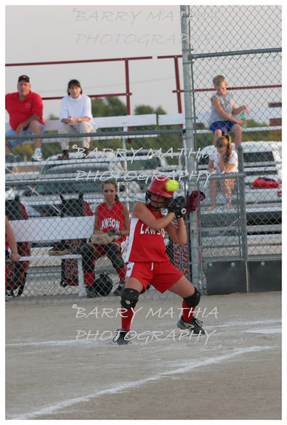 Lawson Softball vs LeBlond Senior night 478