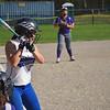 On Thursday afternoon, Leominster High School's Blue Devils varisty softball played St. Peter-Marian High School's Guardians at the Leominster Lassie League Field. Leominster's Devon Joyce at bat. SENTINEL & ENTERPRISE/ ASHLEY LUCENTE