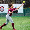 Fitchburg High's Liandra Boddie makes a play during the 15-10 loss to Lunenburg on Friday morning. SENTINEL & ENTEPRISE / Ashley Green