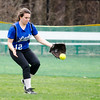 Lunenburg's Kaitlyn Roane makes a play during the 15-10 win over Fitchburg on Friday morning. SENTINEL & ENTEPRISE / Ashley Green