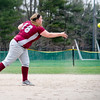 Fitchburg High's Hannah Faulkner makes a play during the 15-10 loss to Lunenburg on Friday morning. SENTINEL & ENTEPRISE / Ashley Green