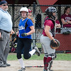 Lunenburg's Natalie Proctor scores a run during the 15-10 win over Fitchburg on Friday morning. SENTINEL & ENTEPRISE / Ashley Green
